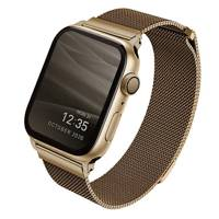 UNIQ Dante pasek opaska bransoleta bransoletka do zegarka Watch 6 44mm / Watch 5 44mm / Watch 4 44mm / Watch SE 44mm złoty