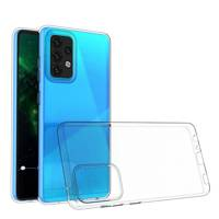 Ultra Clear 0.5mm Case Gel TPU Cover for Vivo X60 Pro transparent