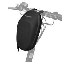 Wozinsky Waterproof electric scooter handlebar bag 6L black (WSB1BK)