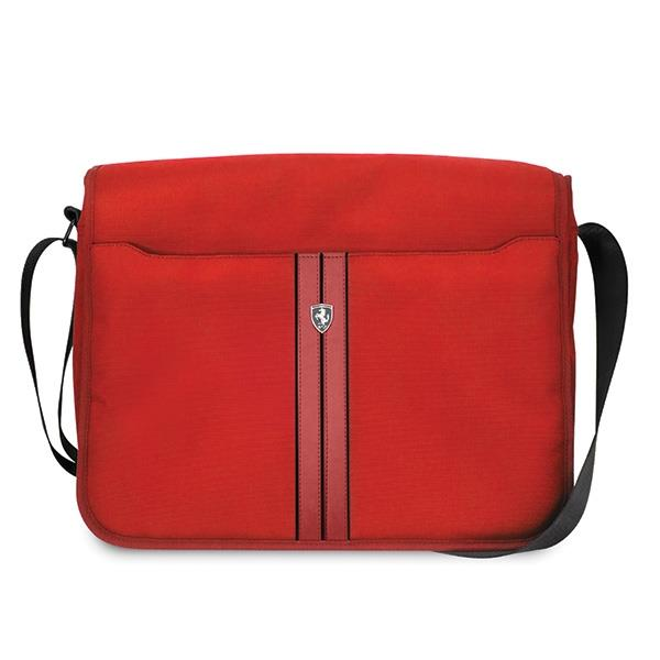 "Ferrari Torba FEURMB13RE Messenger 13"" Urban Collection czerwony/red"