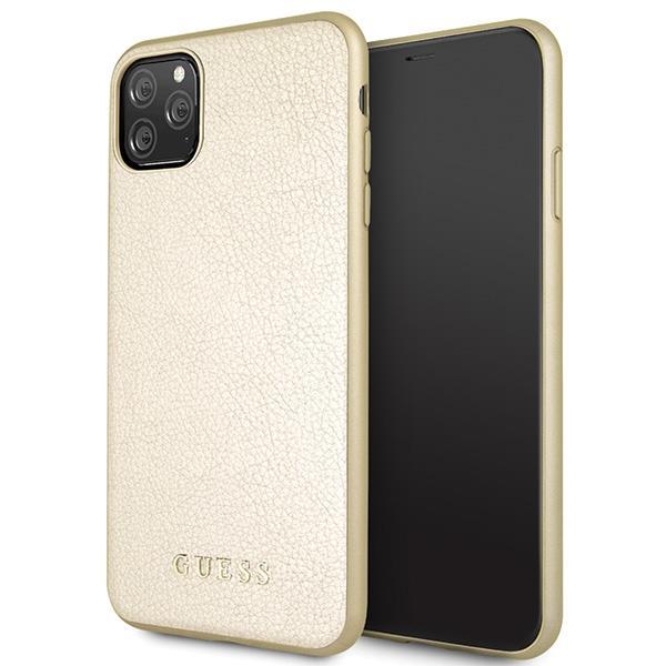 Guess GUHCN65IGLGO iPhone 11 Pro Max złoty/gold hard case Iridescent