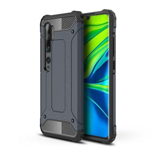 Hybrid Armor robuste TPU/PC Panzer Handyhülle Hard Case für Xiaomi Mi Note 10 / Mi Note 10 Pro / Mi CC9 Pro blau