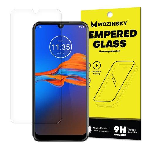 Tempered Glass Panzerglas Schutzglas 9H für Motorola Moto E6 Plus (Verpackung - Umschlag)