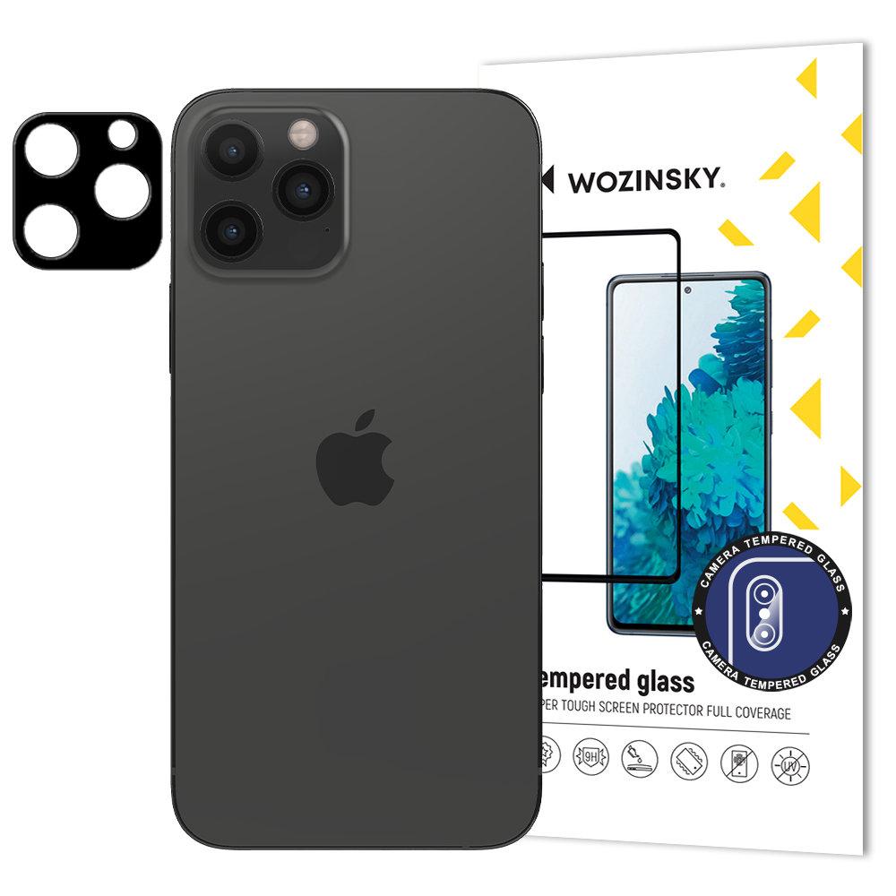 Wozinsky Full Camera Glass szkło hartowane 9H na cały aparat kamerę iPhone 12 Pro Max