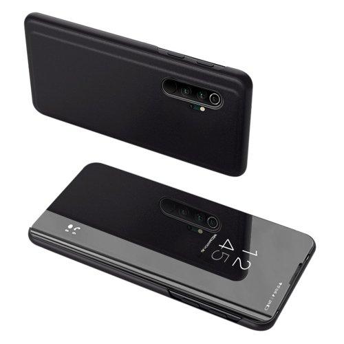 Clear View Case futerał etui z klapką Xiaomi Mi Note 10 / Mi Note 10 Pro / Mi CC9 Pro czarny
